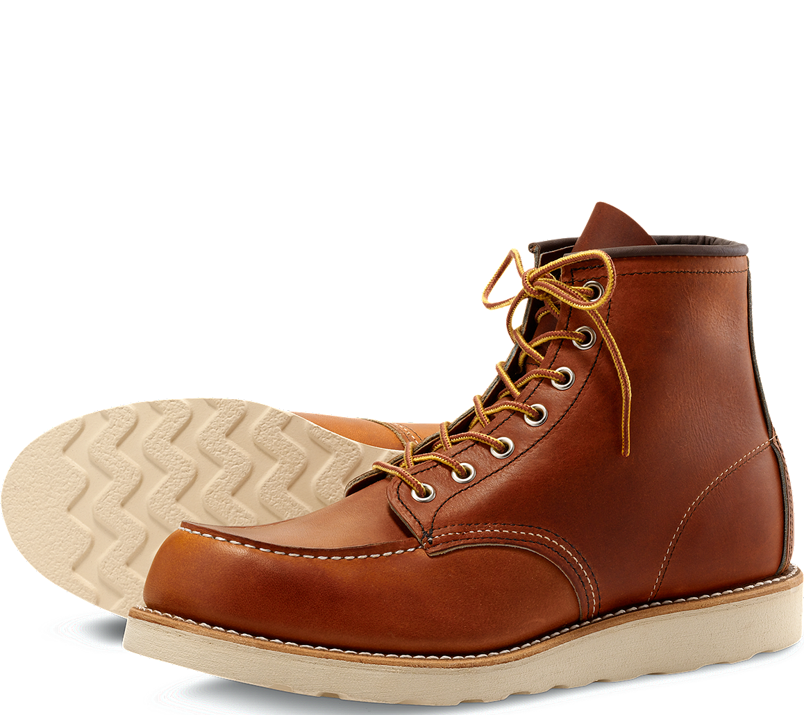 INDEX: RED WING BOOT: 875 (ORO LEGACY LEATHER)